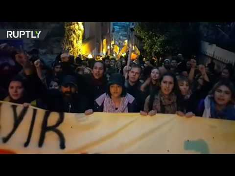 'No, we won': Thousands protest Turkey referendum results in Istanbul