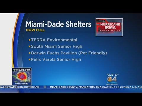 Miami-Dade Opens New Shelters