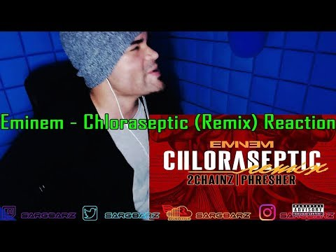 Eminem - Chloraseptic (Remix) ft. 2 Chainz & Phresher REACTION!