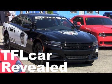 Dodge Charger Pursuit >> TFL Sneak Peek: All new 2015 Dodge Charger Pursuit Police Car Revealed - YouTube