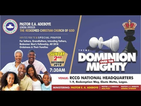 SEPTEMBER 2018 THANKSGIVING || DOMINION OVER THE MIGHTY