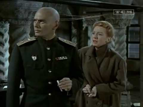 "Yul Brynner speaking Russian in ""The Journey"" (1959)"