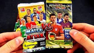 MATCH ATTAX 18/19 vs FIFA 365 2019 UNBOXING BATTLE