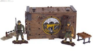 Mega Construx Call of Duty WWII Armory set review