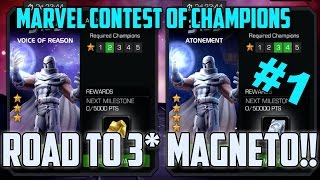 CHALLENGE ACCEPTED! | THREE STAR WHITE MAGNETO VOICE OF REASON!! | MARVEL CONTEST OF CHAMPIONS