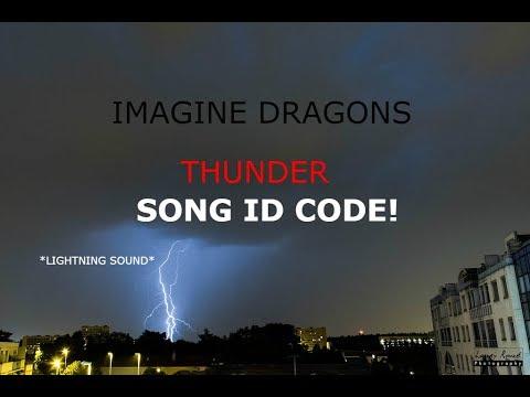 thunder roblox song id