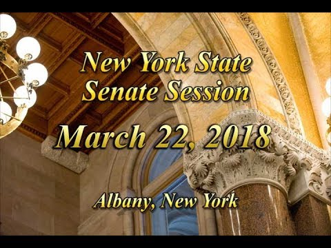 New York State Senate Session - 03/22/18