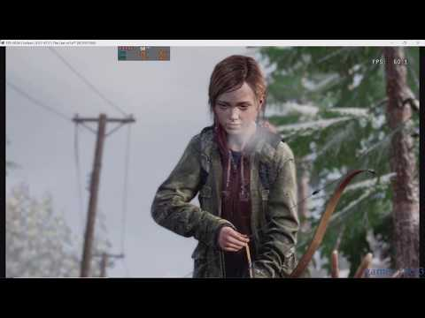 RPCS3 PS3 Emulator   The Last Of Us  Gameplay MLAA Performance Patch   I9-9900K FR