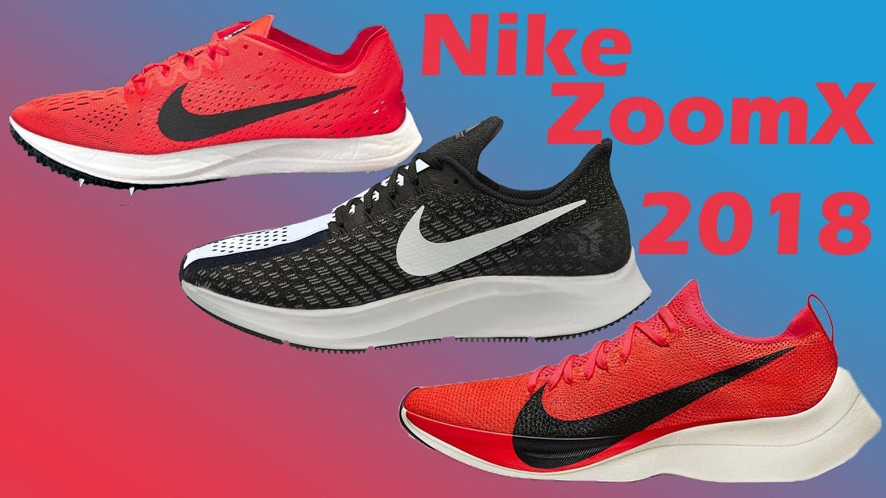 New Nike ZoomX Shoes 2018 || The Running Report