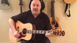 Mammas Don't Let Your Babies Grow Up to be Cowboys - Waylon/Willie (cover) - Easy 3 Chord Tune