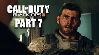 Call of Duty Black Ops 3 Walkthrough Part 7 - Mission 7 RISE & FALL (1080p BO3 60fps Gameplay)