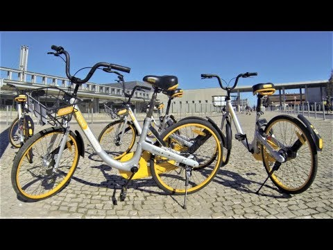 oBike in Lisbon # Review