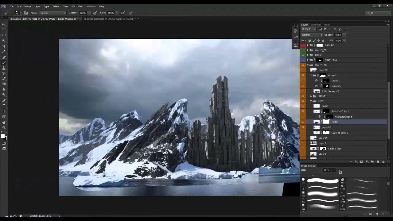 Photoshop Digital Paint Speed Art