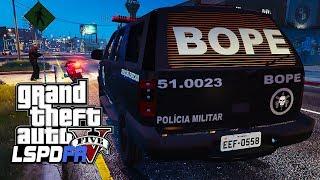 Video GTA V Rotina Policial: CAVEIRA EM RONDAS PMESP Ep: 219 MOD POLICIA download MP3, 3GP, MP4, WEBM, AVI, FLV Januari 2018