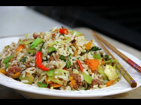 Quick And Tasty Corned Beef Fried Rice | CaribbeanPot.com