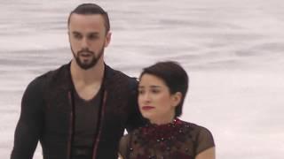 Ksenia Stolbova / Fedor Klimov FS European Championships 2018