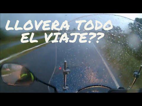 Viaje a Mendoza👉 Capitulo #1 Bragado - Potrero de los Funes ( Corven Energy 110cc.)
