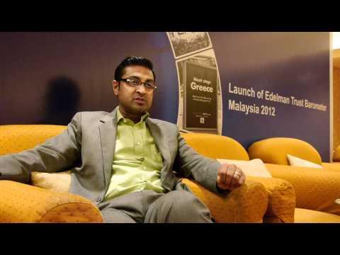 Raymond Siva on trust in Malaysia