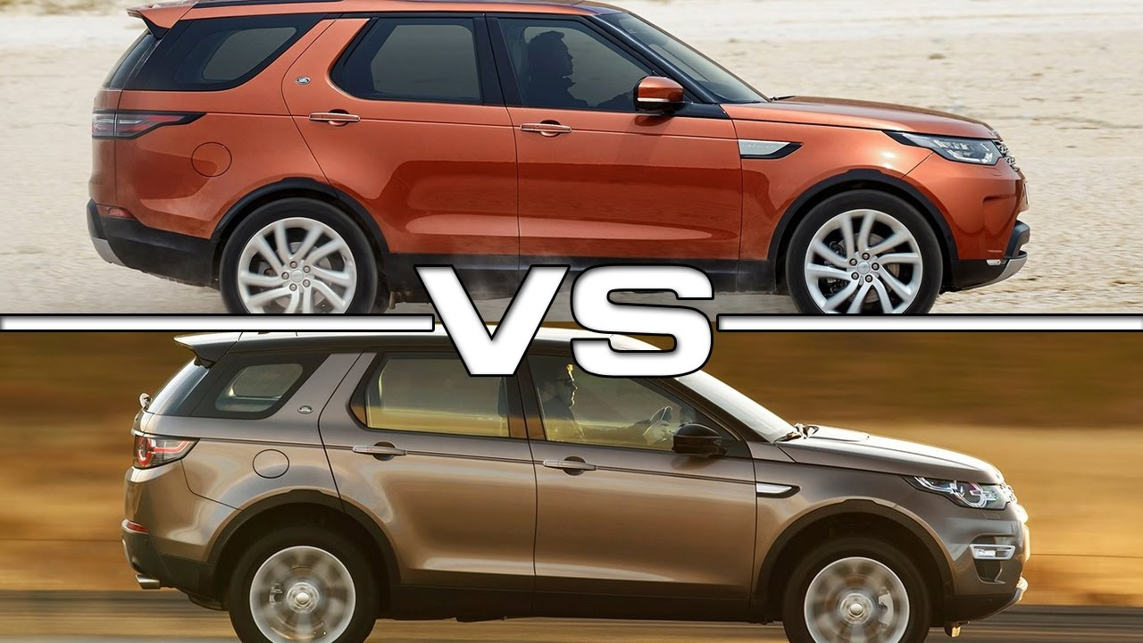 land rover discovery vs land rover discovery sport youtube. Black Bedroom Furniture Sets. Home Design Ideas