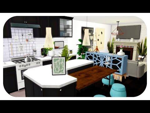 The Sims 4| Apartment Build | YouTuber's LA Apartment (Speed Build)