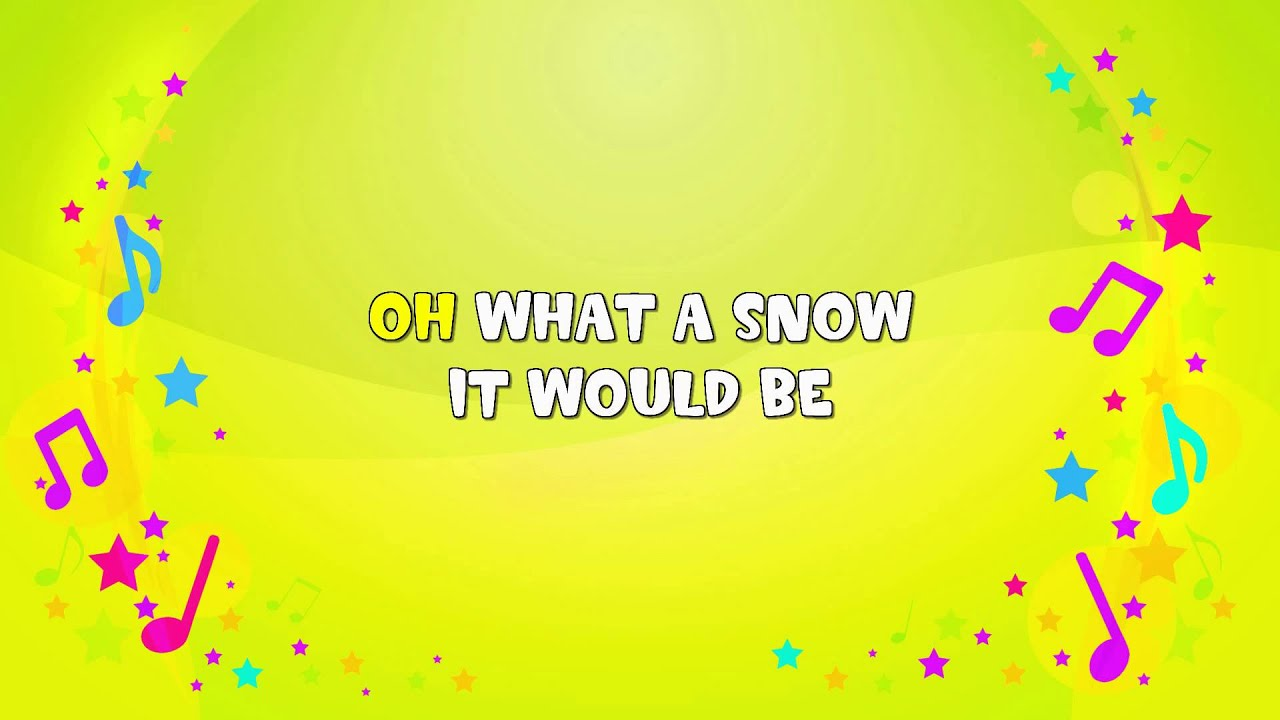 If All the Little Raindrops | Karaoke | Nursery Rhyme | KiddieOK