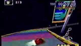F-Zero X Time Attack: Rainbow Road