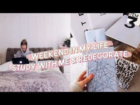 STUDY & REDECORATE WITH ME | EDINBURGH NAPIER UNIVERSITY