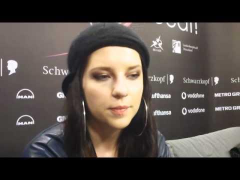 Eurovision 2011 - (Slovenia) Maja Keuc - Intervju Radio Gbg