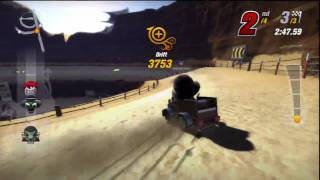 Multiplayer Game 2 - ModNation Racers Gameplay