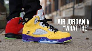 Air Jordan 5 What The Review