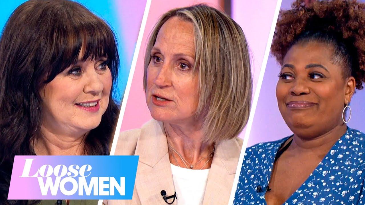 Carol's Partner Mark's Imaginary Friend 'Kirsty' Leaves The Loose Women Baffled   Loose Women