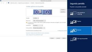Windows 8 Tips Trucos Secretos  - 66 Configurar Resolución Posición de Pantallas, Cambiar Principal