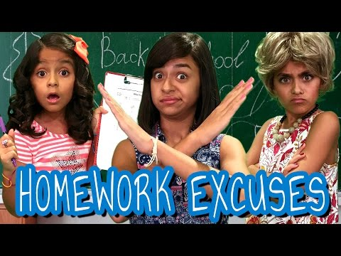 Homework Excuses // GEM Sisters