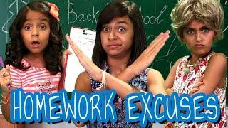 Homework Excuses // GEM Sisters