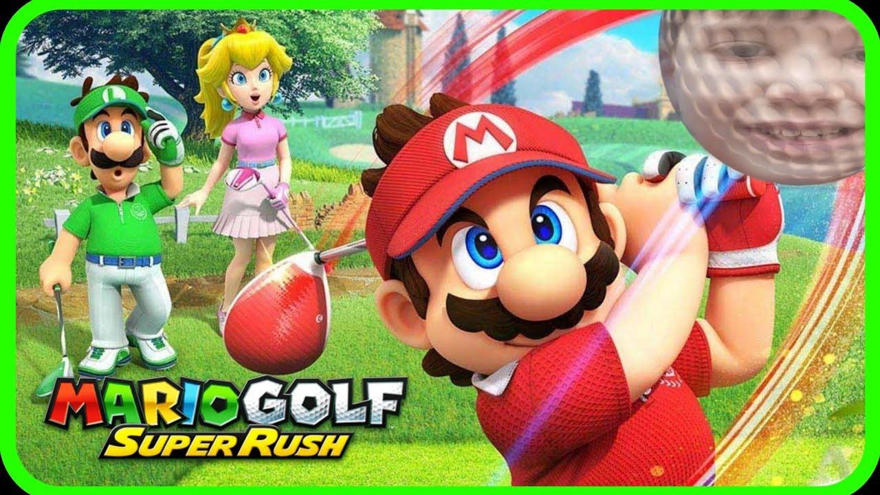 Mario Golf: Super Rush Part 1 - Spielspaß im Grünbüschel!