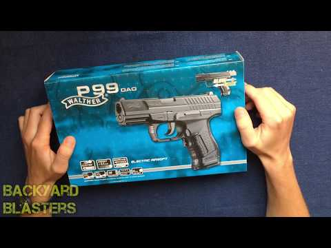 Walther Dao P99 Fully Automatic Airsoft Pistol Umarex