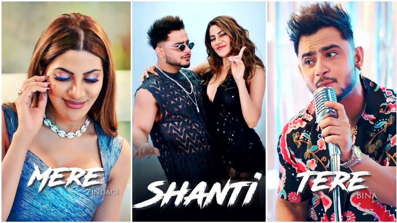 Shanti Fullscreen Whatsapp Status | Shanti Song Status | Millind Gaba Song | Nikki Tamboli |New Song