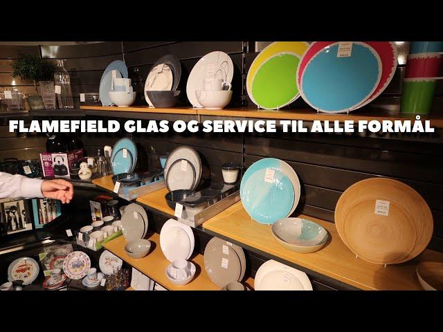 Flamefield glas og service