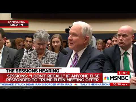 Rep. Bass asks Jeff Sessions whether Black Lives Matter is an extremist gr