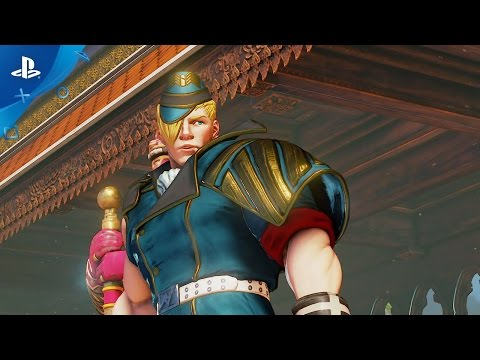Street Fighter V - Ed Trailer   PS4