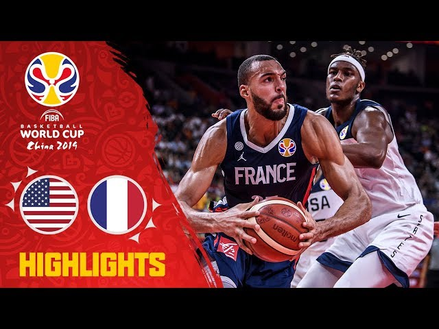 USA v France - Highlights - Quarter-Finals - FIBA Basketball World Cup 2019