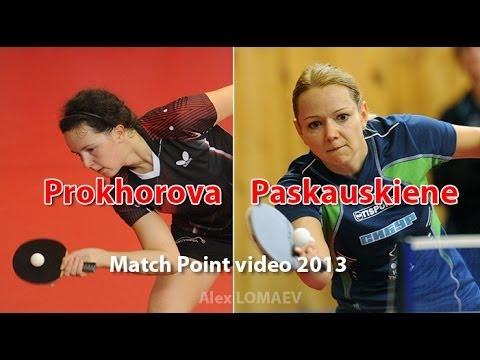 Yulia Prokhorova - Ruta Paskauskiene. Russian Women's Premier League 2013-2014