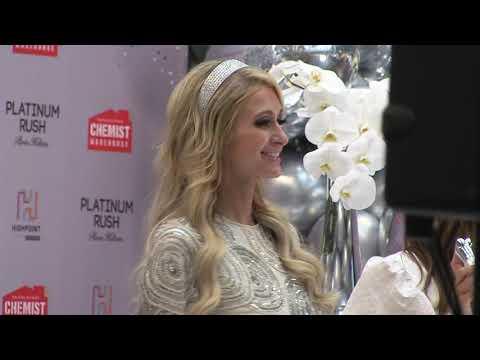 'PARIS HILTON sends fans wild at Australian launch of new perfume' 15MOF