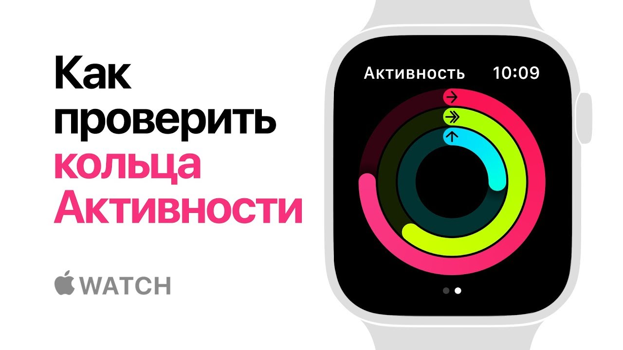 Apple Watch Series 4  Как проверить кольца Активности  Apple