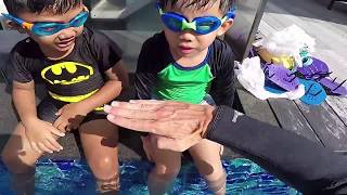 How to teach Backstroke to your children * Learn to swim for beginners