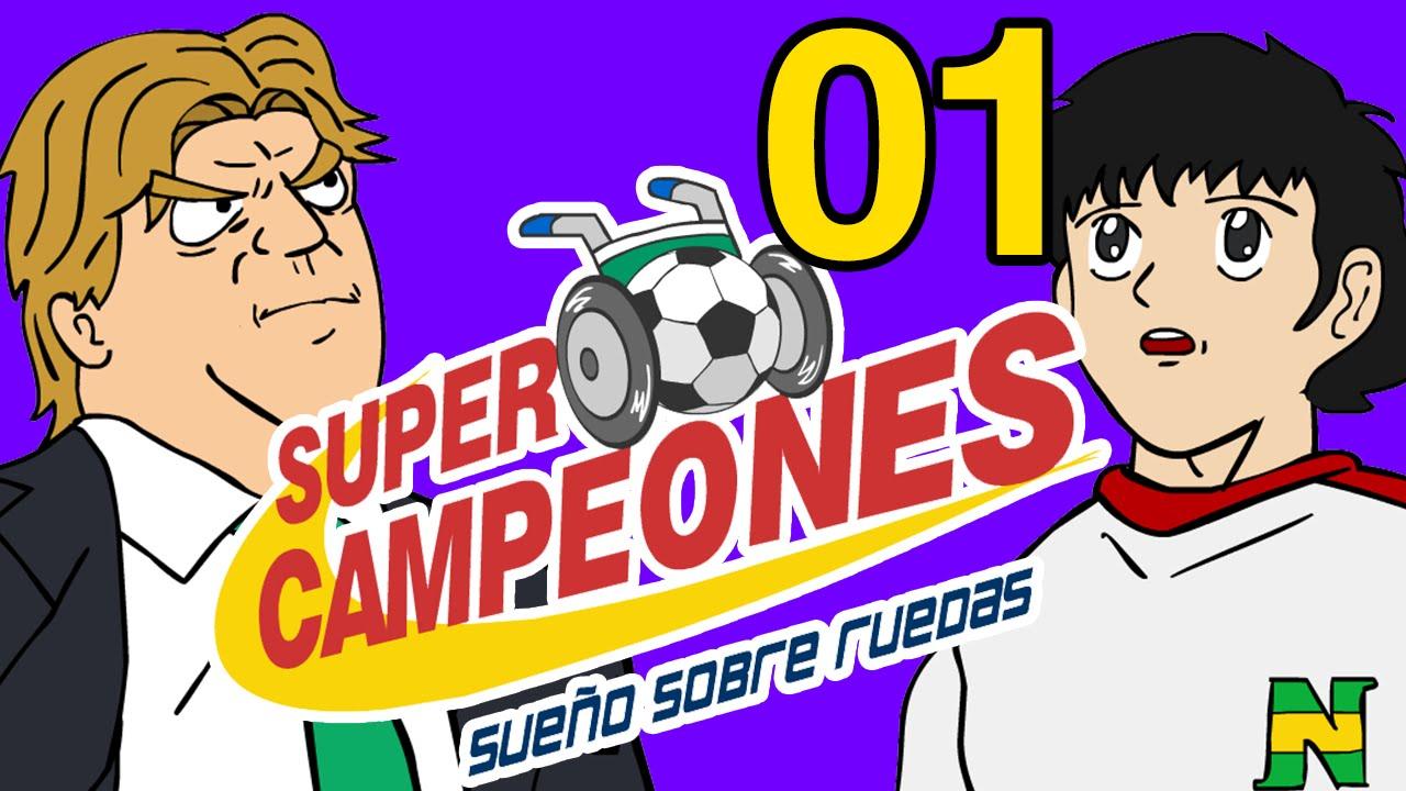 SUPERCAMPEONES  SUEÑO SOBRE RUEDAS - EP 01 - YouTube b3ddc48711e