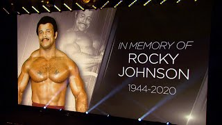 NXT honors Rocky Johnson with a 10-bell salute