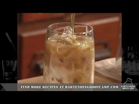 How To Make A Rootbeer Float Cocktail - Drink Recipes From Bartending Bootcamp