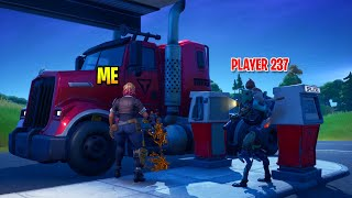 I Refueled Players Cars In Fortnite