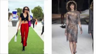 Alanna Arrington Wardrobe Malfunction at Victoria's Secret Fasion